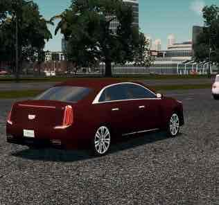 Мод 2018 Cadillac XTS для Cities Skylines
