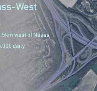 Мод AK Neuss-West A46/A57 (Mass Transit) для Cities Skylines