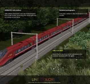 Мод Alstom AGV - NTV Italo (7Cars) для Cities Skylines