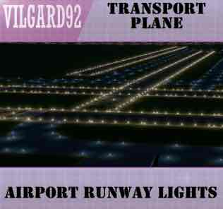 Мод Airport runway lights для Cities Skylines