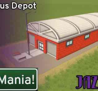 Мод Small Bus Depot - JazzAge для Cities Skylines