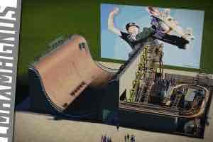 Мод Tony Hawk: the Ride для Planet Coaster