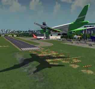 Мод Airport - Approach Lighting System (ALS) v1 для Cities Skylines