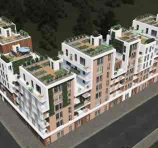 Мод Astergea Flats 1 для Cities Skylines