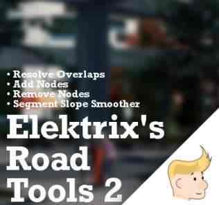 Мод Elektrix's Road Tools 2.0 для Cities Skylines