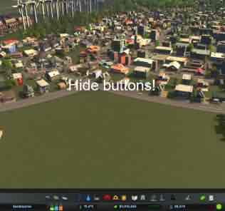 Мод Hide It! для Cities Skylines