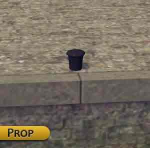 Мод Old bollard for quay для Cities Skylines