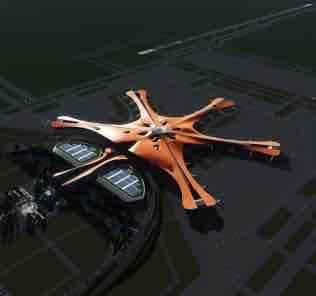 Мод PKX Airport для Cities Skylines