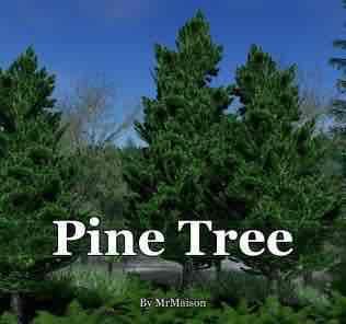 Мод Pine Tree для Cities Skylines
