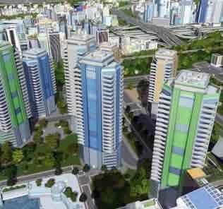 Мод Quad Phitsanulok M для Cities Skylines