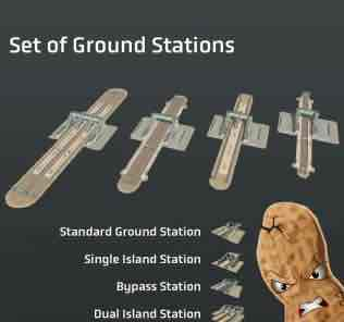Мод Set of Ground Stations для Cities Skylines