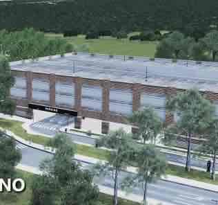 Мод University Parking Garage для Cities Skylines