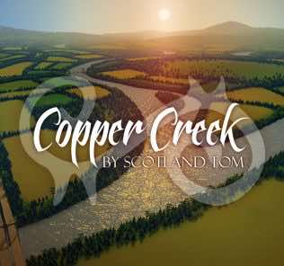 Мод Copper Creek для Cities Skylines