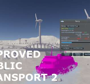 Мод Improved Public Transport 2 для Cities Skylines
