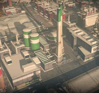 Мод Large Advanced Incineration Plant для Cities Skylines