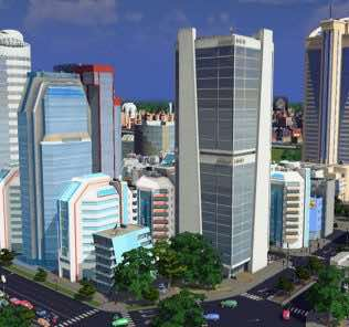 Мод Prince Tower - Growable 4x4 Lvl3 H commercial для Cities Skylines