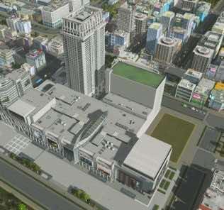 Мод Quad's Central World Series 2 для Cities Skylines