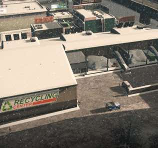 Мод Recycling Center для Cities Skylines