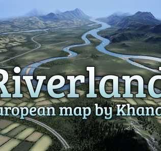 Мод Riverlands для Cities Skylines