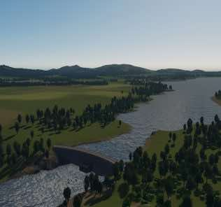 Мод Vanilla Lake - Updated 2019 для Cities Skylines