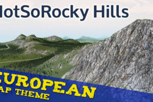 Мод NotSoRocky European Map Theme для Cities Skylines