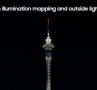 Мод Sky Tower Auckland (AD Update) для Cities Skylines